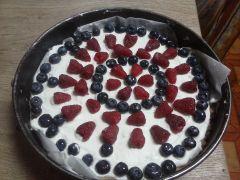 Cheesecake con frutti di bosco